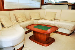 Interior yacht Stock Images