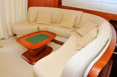 Interior yacht Royalty Free Stock Photos