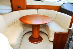 Interior yacht Royalty Free Stock Images