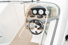 Interior of yacht cabin Stock Photo
