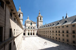 Interior yard of El Escorial Royalty Free Stock Photo