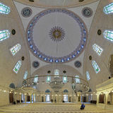 Interior of Yavuz Selim Mosque in Istanbul, Turkey Royalty Free Stock Images