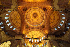 Interior - Yeni Camii Stock Photos