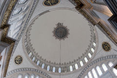 Interior of yeni Camii Stock Photo