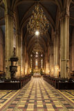 Interior of Zagreb Cathedral Stock Images