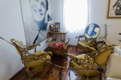 Interior of the Zeki Müren Museum in Bodrum, Turkey Royalty Free Stock Photography