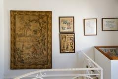 Interior of the Zeki Müren Museum in Bodrum, Turkey Royalty Free Stock Photo