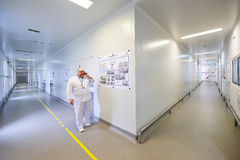 Interior of Zentiva drugs factory Royalty Free Stock Images