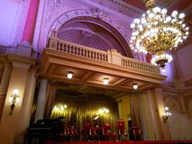 Interior of the Zofin Palace in Prague royalty free stock image