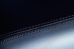 Interiorbackground abstracto del coche. lanzamiento macro Foto de archivo