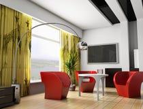 Interiore 043 Fotografia Stock Libera da Diritti