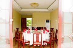 Interiore 2 del ristorante immagine stock