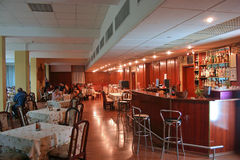 Interiore 2 del ristorante immagine stock libera da diritti