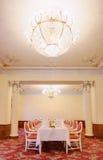 Interiore 5 del ristorante Fotografie Stock Libere da Diritti