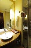 Interiore 7 della stanza da bagno dell'hotel Immagini Stock