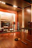 Interiore ad alta fedeltà di lusso dello studio Fotografie Stock