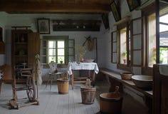 Interiore antico Fotografie Stock Libere da Diritti