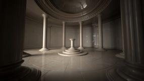 Interiore antico Fotografia Stock Libera da Diritti