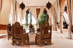 Interiore arabo Fotografia Stock Libera da Diritti