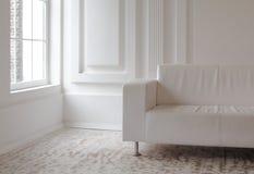 Interiore bianco Fotografia Stock Libera da Diritti