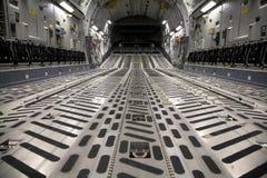 Interiore C-17 fotografia stock libera da diritti