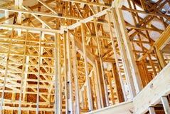 Interiore che incornicia/nuova casa Fotografia Stock Libera da Diritti