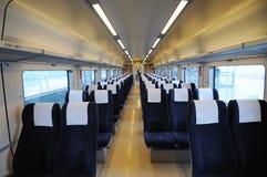 Interiore cinese del treno veloce Immagini Stock