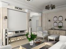 Interiore classico. Fotografie Stock