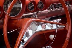 Interiore classico dell'automobile Immagine Stock Libera da Diritti