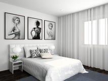 Interiore comodo moderno Fotografie Stock