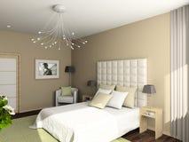 Interiore comodo moderno Immagini Stock