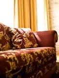 Interiore con il sofà fotografia stock
