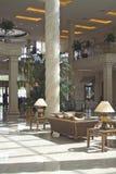 Interiore con le lampade di scrittorio Immagini Stock Libere da Diritti