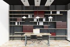 Interiore contemporaneo dell'ufficio royalty illustrazione gratis