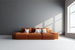 interiore 3D Fotografie Stock Libere da Diritti