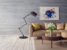 interiore 3D Fotografie Stock