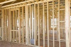 interiore d'inquadramento della costruzione Fotografie Stock Libere da Diritti