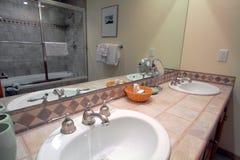 Interiore del bagno Fotografia Stock