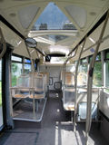 Interiore del bus Fotografie Stock