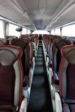 Interiore del bus immagini stock libere da diritti