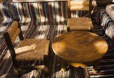 Interiore del caffè Fotografie Stock Libere da Diritti