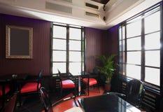 Interiore del caffè Immagini Stock