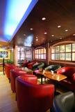 Interiore del caffè Immagini Stock Libere da Diritti