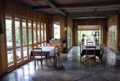 Interiore del caffè Fotografia Stock