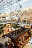 Interiore del centro commerciale Immagini Stock