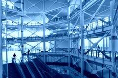 Interiore del complesso di affari Immagine Stock