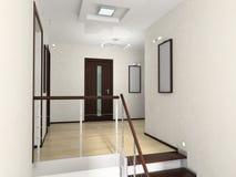 Interiore del Corridoio Fotografia Stock Libera da Diritti