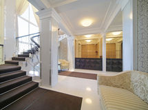 interiore del corridoio Fotografie Stock