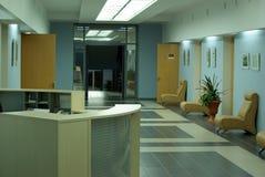 Interiore del corridoio di affari fotografia stock libera da diritti