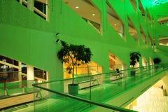 Interiore del corridoio di città fotografia stock libera da diritti